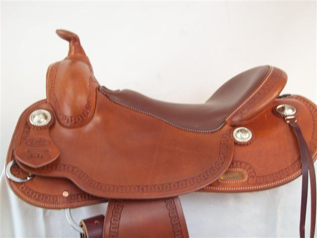 Used Saddle:Bob's Custom Saddles Lightweights!- Image Number:0