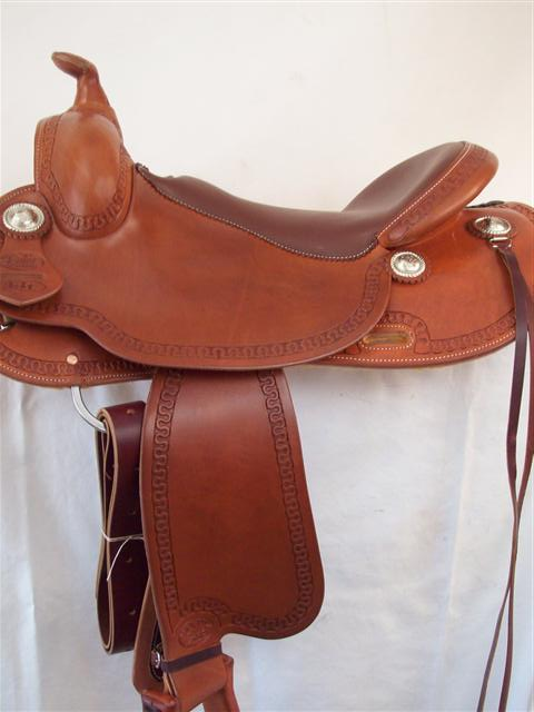 Used Saddle:Bob's Custom Saddles Lightweights!- Image Number:1