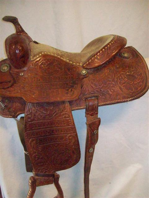 Used Saddle:Billy Cook (Original Greenville) Vintage All- Around 14inch- Image Number:1