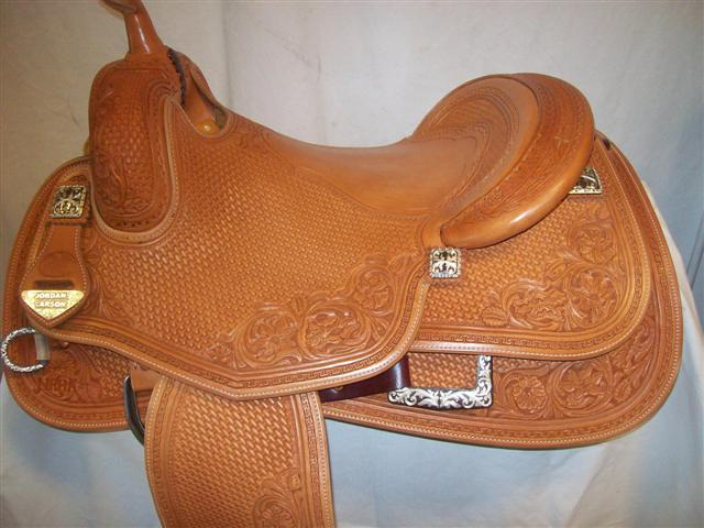 Used Saddle:Bob's Custom Saddles  Hard Seat- Image Number:0