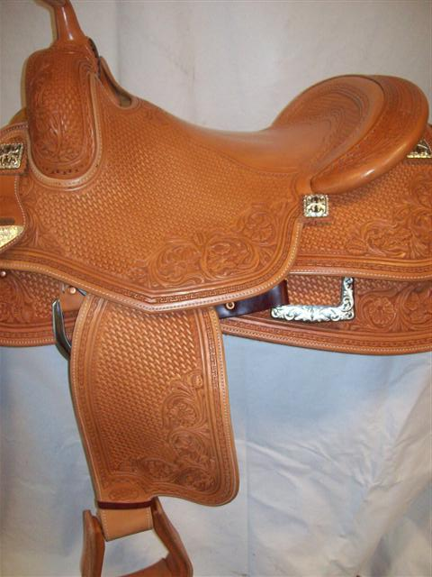 Used Saddle:Bob's Custom Saddles  Hard Seat- Image Number:1