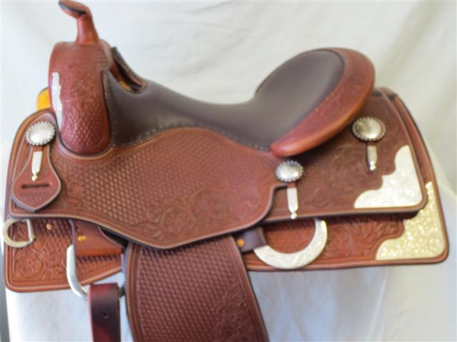 Used Saddle:Bob's Tim McQuay Show Reiner- Image Number:0