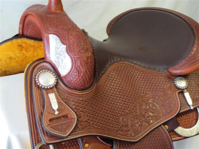 Used Saddle:Bob's Tim McQuay Show Reiner- Image Number:1