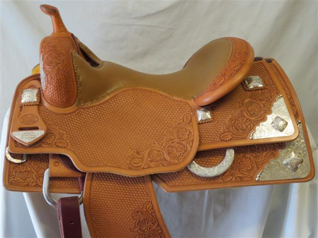 Used Saddle:Bob's  Show Reiner- Image Number:2