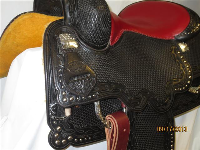 Used Saddle:Bob's Biker Special!, custom made for Bobssaddles.com- Image Number:2