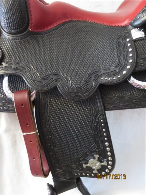 Used Saddle:Bob's Biker Special!, custom made for Bobssaddles.com- Image Number:4