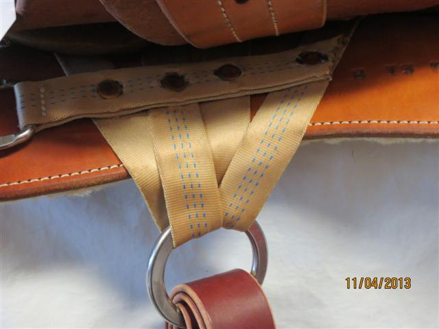 Used Saddle:Bob's Custom Saddles Trail Saddle- NEW- Image Number:2