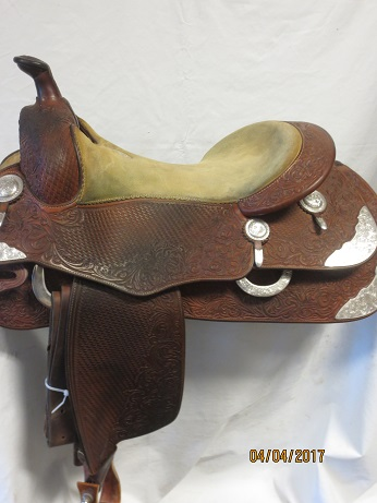 Used Saddle:Donn Leson Show Saddle 16- Image Number:2