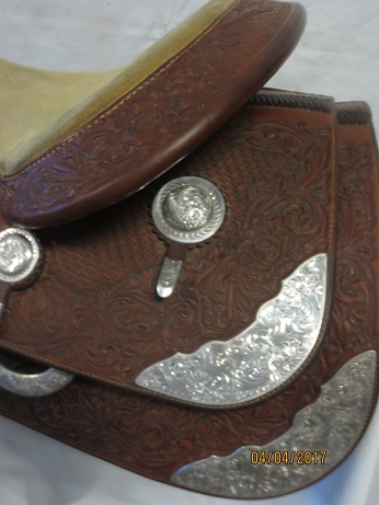 Used Saddle:Donn Leson Show Saddle 16- Image Number:3