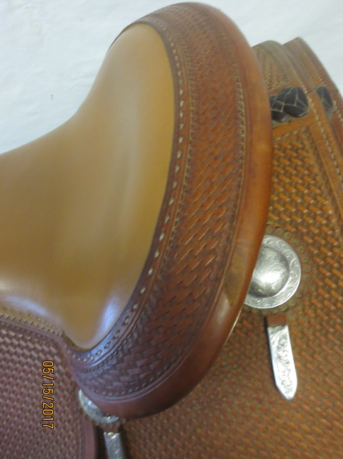 Used Saddle:Bob's Custom Saddles Al Dunning Model 16inch- Image Number:3