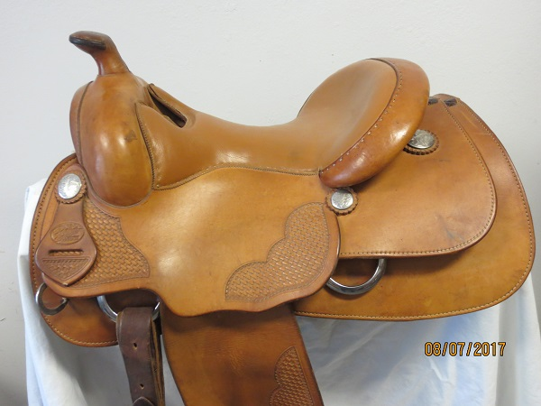 Used Saddle:Bob's value priced Reiner on Latimer tree- Image Number:0
