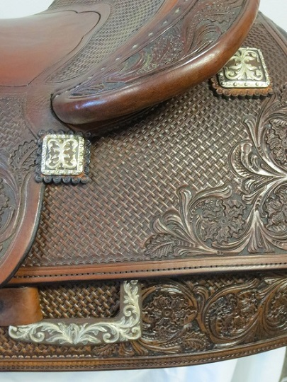 Used Saddle:GORGEOUS Bob's Hardseat JL Reiner 16inch- Image Number:3