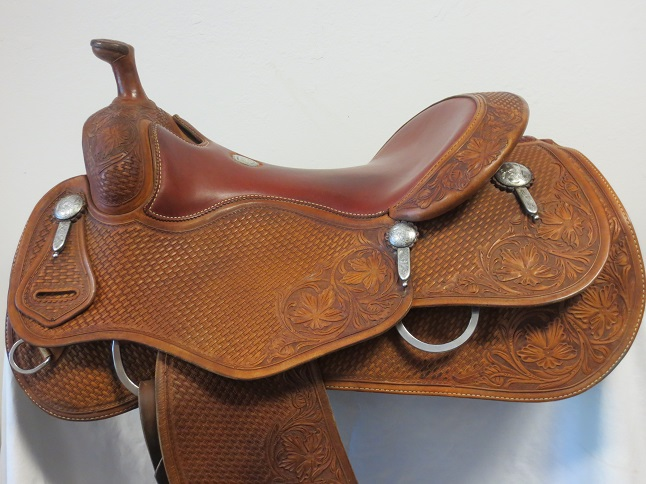 Used Saddle:Cowhorse Equipment Used MINT cowhorse/reiner 16inch- Image Number:1