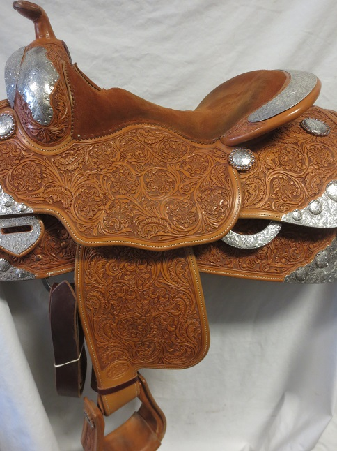 Used Saddle:MINT MINT MINT Bob's Show Saddle 15.5- Image Number:1