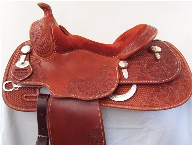 Used Saddle:Duane Latimer  15, 15.5, 16, 16.5, - Image Number:0
