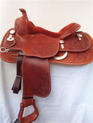 Used Saddle:Duane Latimer  15, 15.5, 16, 16.5, - Image Number:1