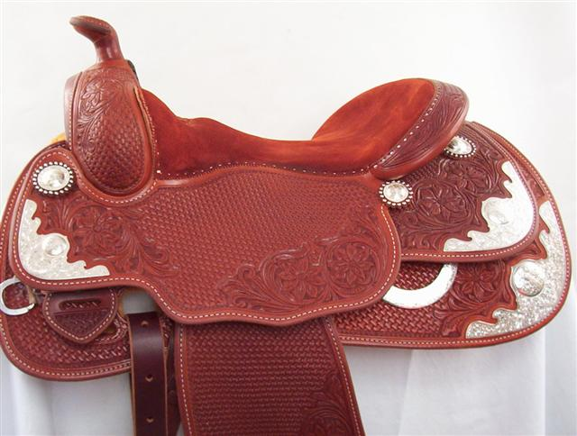 Used Saddle:Bob's Arabian Show Saddle!- Image Number:0