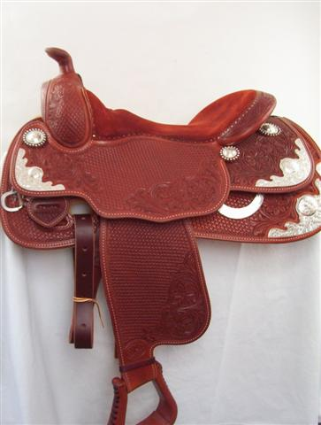 Used Saddle:Bob's Arabian Show Saddle!- Image Number:1