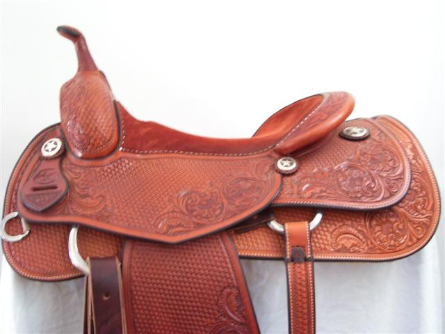 Used Saddle:Bob's Cowhorse- All Around- Image Number:1