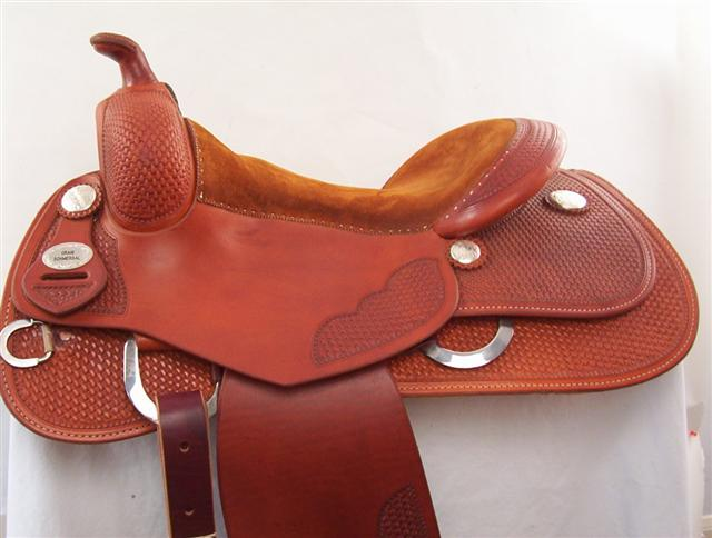 Used Saddle:Bob's 16inch  Base Model- Image Number:0