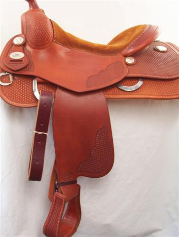 Used Saddle:Bob's 16inch  Base Model- Image Number:1