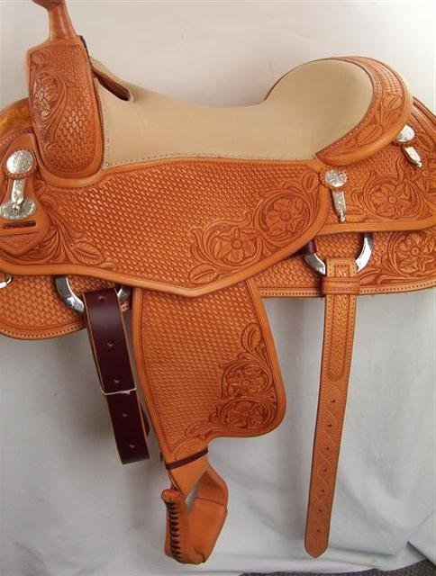 Used Saddle:Bob's Bob Avila Cowhorse- Image Number:0