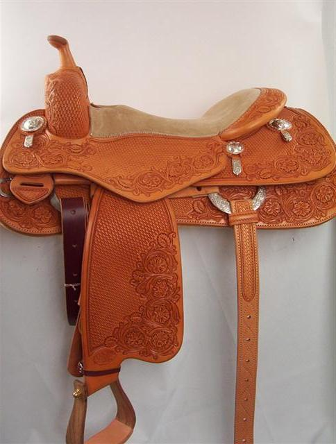 Used Saddle:Bob's - Buster Welch Futurity Reiner- Image Number:3