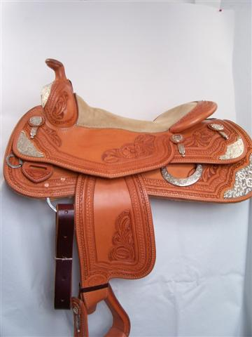 Used Saddle:Bob's 16inch Show Saddle- Image Number:1