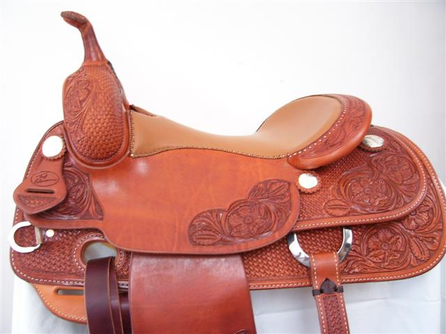 Used Saddle:Bob's 16inch Teddy Robinson Cowhorse- Image Number:0