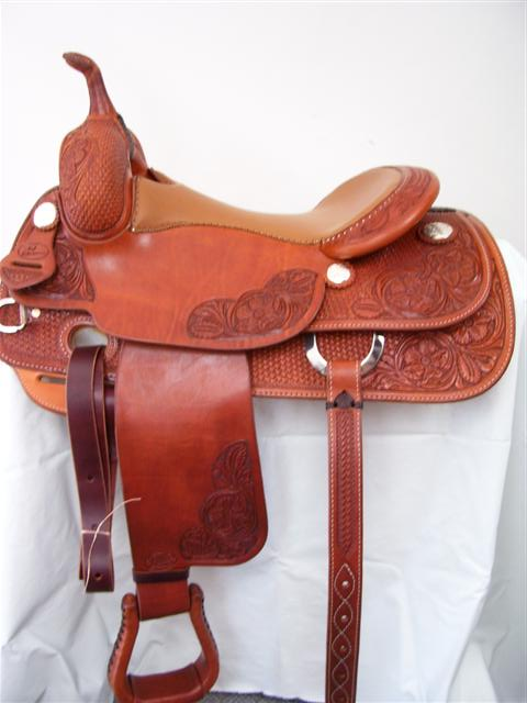 Used Saddle:Bob's 16inch Teddy Robinson Cowhorse- Image Number:1