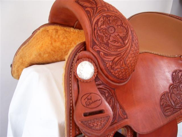 Used Saddle:Bob's 16inch Teddy Robinson Cowhorse- Image Number:2