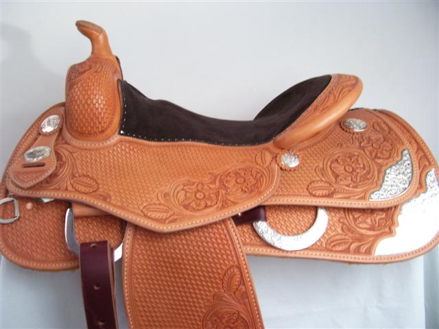 Used Saddle:Bob's Show Reiner- Image Number:0