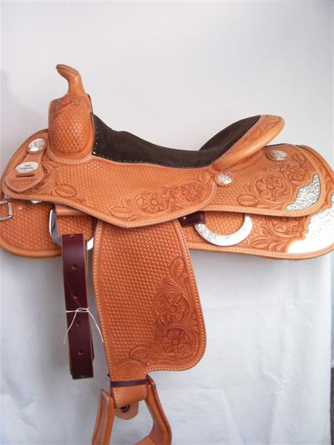 Used Saddle:Bob's Show Reiner- Image Number:1