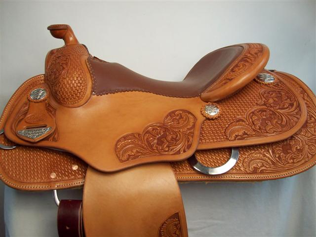 Used Saddle:Bowman Reiner-NEW from Bob's- Image Number:0