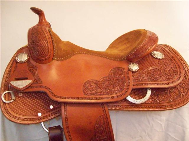 Used Saddle:Bob's Lady Reiner Deluxe-16inch- Image Number:0