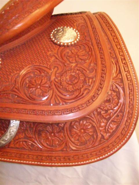 Used Saddle:Bob's Lady Reiner Deluxe-16inch- Image Number:2