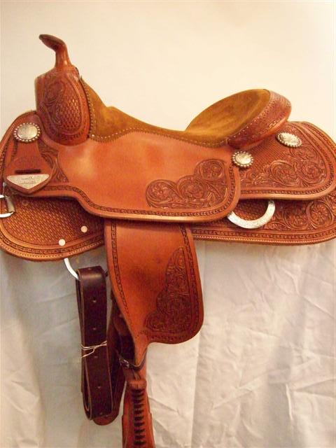 Used Saddle:Bob's Lady Reiner Deluxe-16inch- Image Number:3